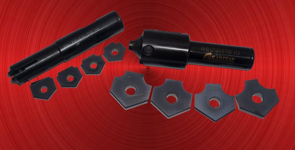 Radstar Corner Rounding milling tools - Datum Point Tools